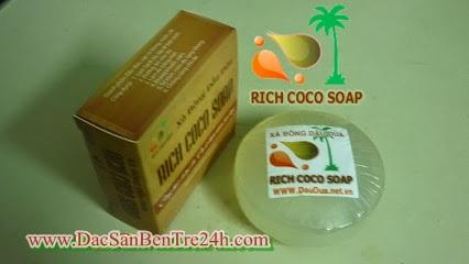 xa bong dua thien nhien handmade rich coco soap lam tu tinh dau dua nguyen chat xa phong diet khuan rua tay rua mat tam duong am da 61